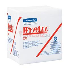 Distributor WYPALL X70 manufactured rags, ¼ fold, 90 sheets per pack 95412, Jual WYPALL X70 manufactured rags, ¼ fold, 90 sheets per pack 95412