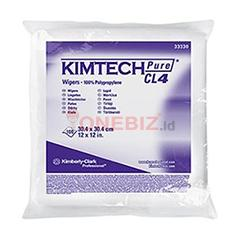 Distributor Kimtech Pure* CL4 33330 Critical Task Wipers, 1 ply, 100 sheets per pack, Jual Kimtech Pure* CL4 33330 Critical Task Wipers, 1 ply, 100 sheets per pack