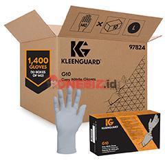 Distributor KLEENGUARD G10 97821 KLEENGUARD* G10 Grey Nitrile Gloves Size 7, 150 gloves per pack, Jual KLEENGUARD G10 97821 KLEENGUARD* G10 Grey Nitrile Gloves Size 7, 150 gloves per pack