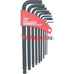 Distributor Kennedy KEN6025730K IMPERIAL L-WRENCH BALL DRIVER SET (9-PCE), Jual Kennedy KEN6025730K IMPERIAL L-WRENCH BALL DRIVER SET (9-PCE)