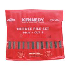 "Distributor Kennedy KEN0315990K 14cm (5.1/2"") CUT 2 ASSORTED NEEDLE FILE SET-12PCE, Jual Kennedy KEN0315990K 14cm (5.1/2"") CUT 2 ASSORTED NEEDLE FILE SET-12PCE"