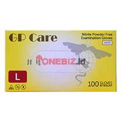 Distributor Sarung Tangan Nitrile GP Care White Size L, Jual Sarung Tangan Nitrile GP Care White Size L