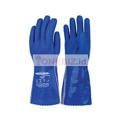 Distributor Summitech VK5 EB Chemical Resistant Gloves, Jual Summitech VK5 EB Chemical Resistant Gloves Distributor Chemical Glove/Sarung Tangan Kimia PVC Summitech VK5 EB, Jual Chemical Glove/Sarung Tangan Kimia PVC Summitech VK5 EB