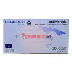 Distributor Sarung Tangan Nitrile Cosmo Med AMG Size L, Jual Sarung Tangan Nitrile Cosmo Med AMG Size L
