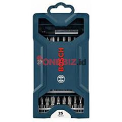 Distributor Bosch 25PCS MINI X-LINE Screwdriver Bits Set, Jual Bosch 25PCS MINI X-LINE Screwdriver Bits Set