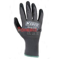 Distributor SABER Grip300 Nitrile Coated Gloves Satuan Case, Jual SABER Grip300 Nitrile Coated Gloves Satuan Case